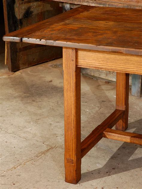 Large Pine Dining Table Large Oak And Pine Dining Table At 1stdibs