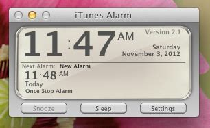 list of free alarm clock apps for mac
