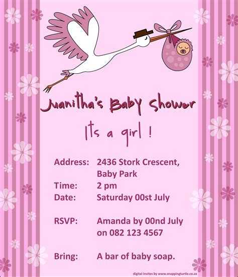Baby Shower Invitaitons by Baby Shower Invitation Baby Shower Invitation Templates
