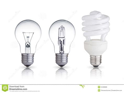 how is a light bulb different from a resistor different bulbs royalty free stock image image 34468686