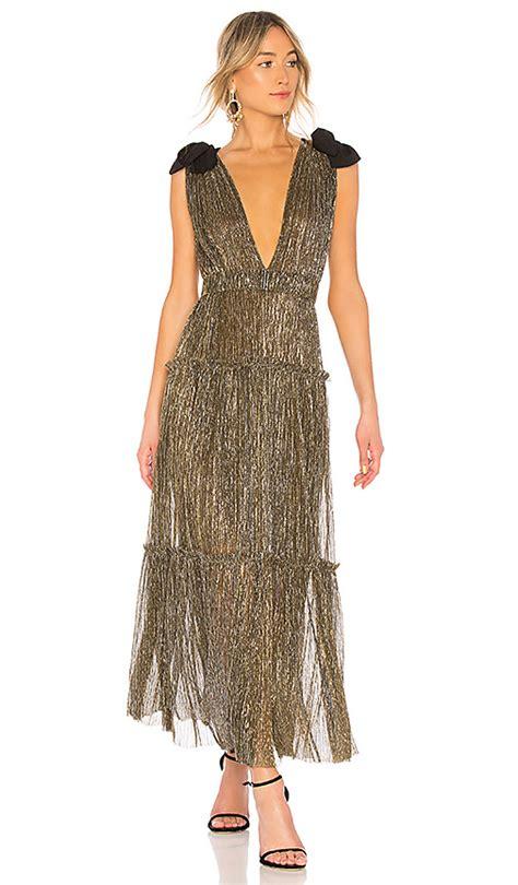 Sabina Dress sabina musayev dress in gold revolve