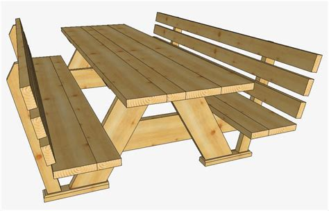 picknicktisch esszimmer sitzbank aus holz selber bauen diy designer wand le