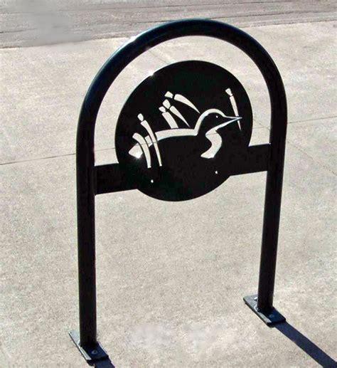 Custom U by Custom Bike U Racks Cyclesafe