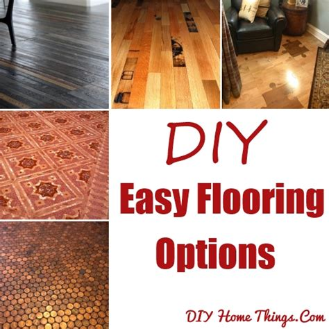 Diy Flooring Options 15 Diy Easy Flooring Options Diy Home Things