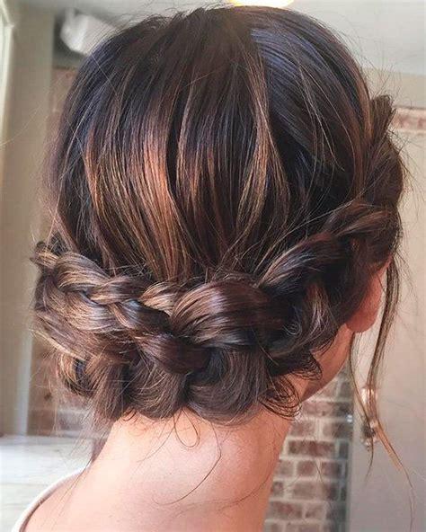 peinados recogidos para damas de honor con pelo largo 43 peinados para damas de honor e invitadas de la boda