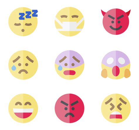 emoji png pack 44 emoji icon packs vector icon packs svg psd png