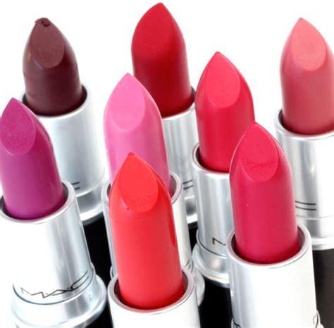 mac matte pink lipsticks the mac retro matte lipsticks in