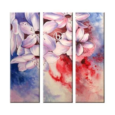 Lukisan Bunga Kg31 Bmc jual lukisan kaligrafi abstrak harga promo diskon blibli