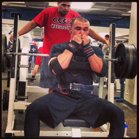 bench press 135 ans fortitude day 10 colby strunk