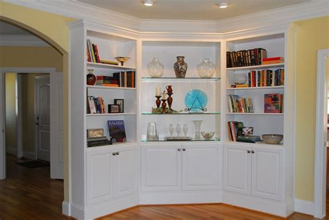 built in white bookcases built in bookcases ideas for small space