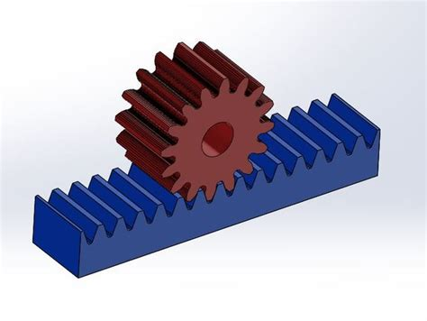 rack and pinion gear set exle by dreyfusduke thingiverse