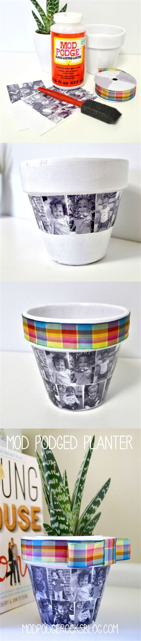 diy mod podge flower pot beautify your home and garden with these awesome diy flower pots hative