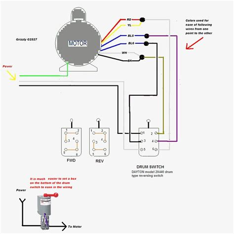 electric reversible motor switch wiring wiring diagram