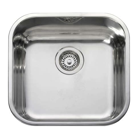 Stainless Steel Sink Bowl by Leisure Single Bowl Bss40 Stainless Steel Sink Kitchen
