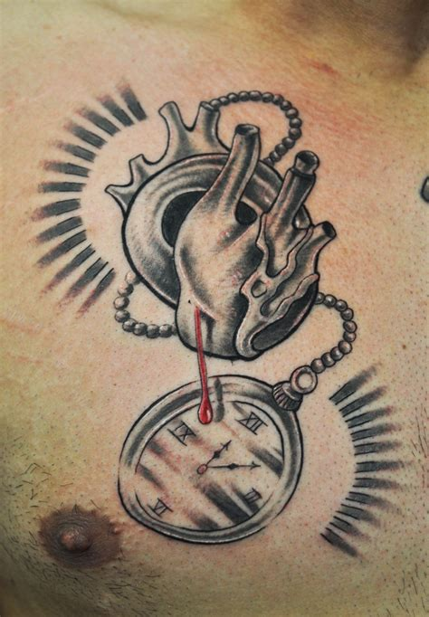 human heart tattoo human artist sid lopes for