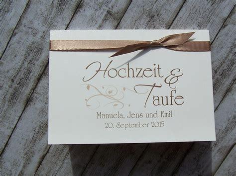 Hochzeit Und Taufe Einladung by Einladungskarten Hochzeit Mit Taufe Thegirlsroom Co