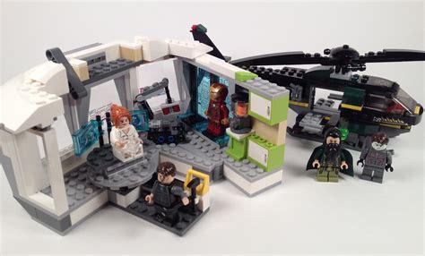lego marvel heroes iron malibu mansion attack 76007 brick radar