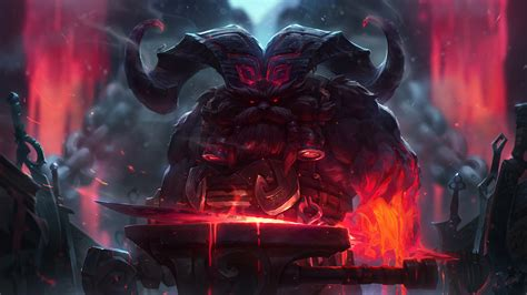 wallpaper 4k lol classic ornn lol wallpapers