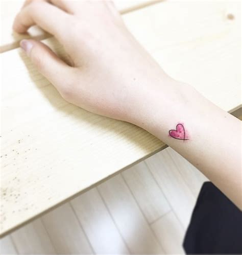 tiny heart tattoo designs 40 beautiful tiny wrist tattoos for tattooblend