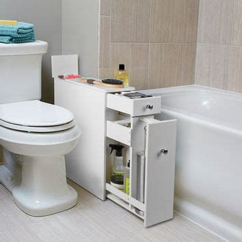bathroom cabinet slim bainbridge slim bath cabinet from skymall bathroom