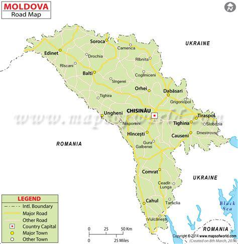moldova road map
