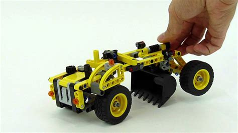 lego technic scraper   model youtube