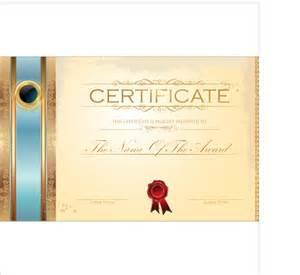 best certificate template design vector 05 vector cover