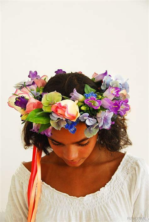 Bunga Satin Mini Flower Crown Souvenir 65 best dress for images on carnivals cabello de colores and colourful hair