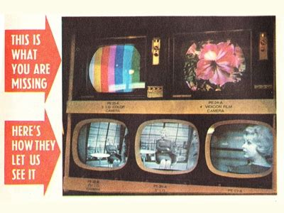 what year was the color tv 40 years of colour tv television au