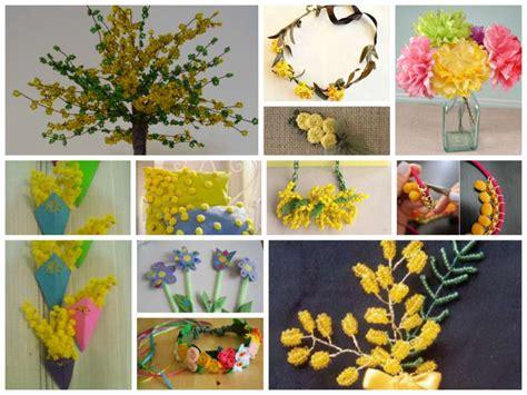 fiori per la festa delle donne lavoretti per la festa della donna idee fai da te foto