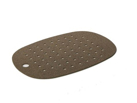 cork mats for bathrooms cork and rubber bath mat dark cork by authentics
