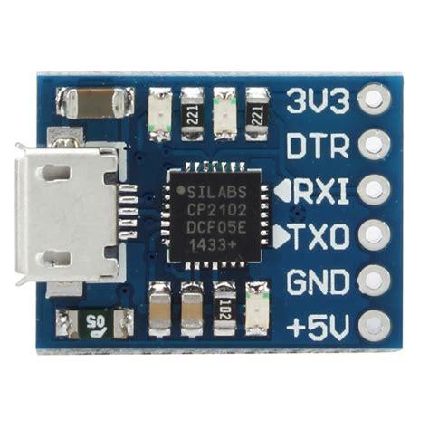 Usb Micro Uart Repaird cp2102 micro usb to uart ttl module hobbytronics pakistan