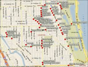 Chicago Sightseeing Map by Downtown Chicago Map Pdf