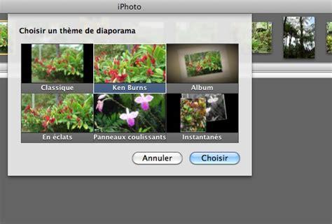 themes diaporama photo mac cr 233 er un diaporama comment 233 avec mac