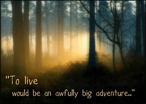 to live would be an awfully big adventure tattoo to live would be an awfully big adventure on