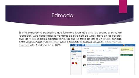 edmodo y similares plataformas educativas ppt descargar