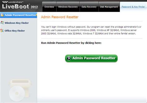 Windows Reset Password Genius | recuperare password windows con boot genius tenorshare