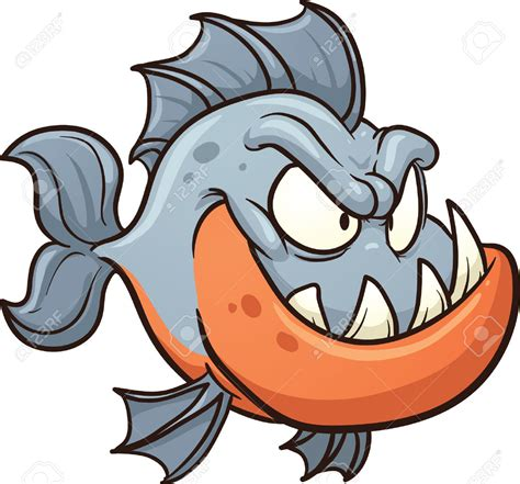 arts clipart piranha cliparts