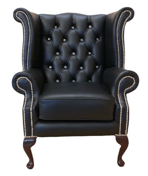chesterfield sofa and chair zwart on bloemen corsets and interieur