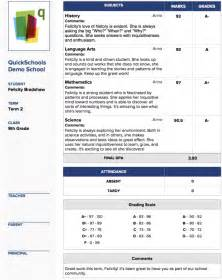 management system report card templates for k 12