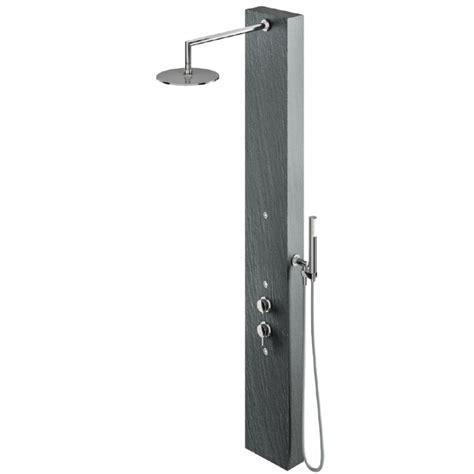doccia colonna relax design colonna doccia in pietra sintetica ardesia