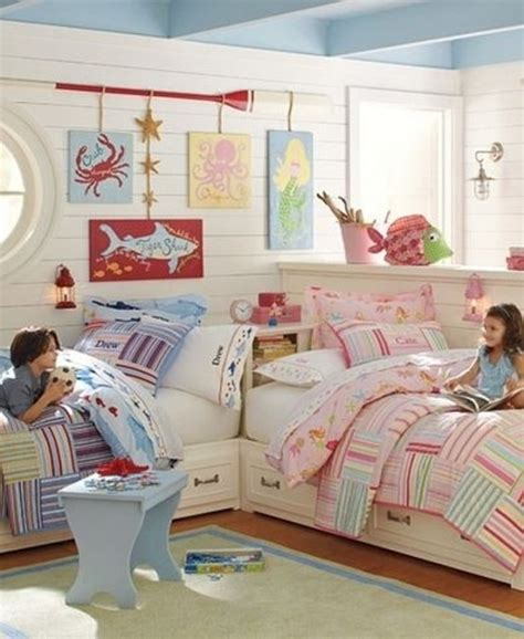 Decorating Ideas For Coed Bedroom Idee Deco Chambre Enfant Mixte