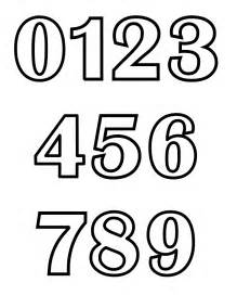 numbers coloring pages getcoloringpages