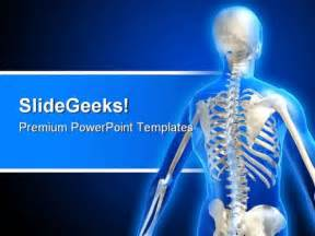 bone powerpoint template skeleton powerpoint template 0610 templates