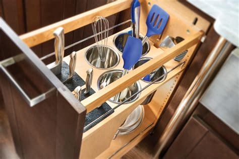 "11"" Knife Block & Utensil Base Organizer (448KB BCSC 11C)"