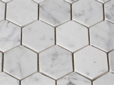 hexagon tile popular for backsplash studio design