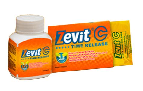 Suplemen Zevit Grow jual zevit c time release isi 30 kapsul prosehat