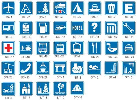 imagenes de señales informativas con su significado se 241 ales informativas