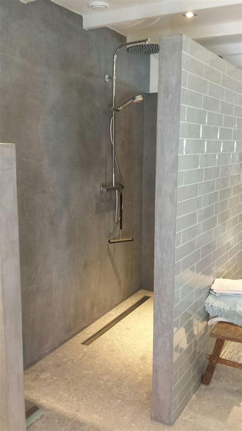 wc ideeen vt wonen badkamer met vt wonen tegels en beton cire badkamer