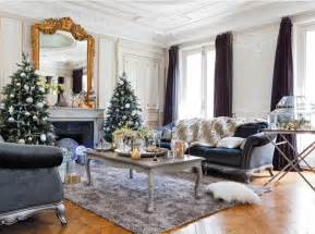 Paris Home Decor by Christmas Decor In Paris Apartment Interiors And Design